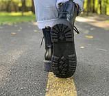 Жіночі черевики шкіряні Dr.Martens Jadon black Доктор Мартінс Жадон Чорні (36,37,39), фото 5