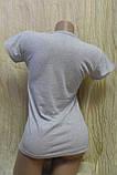 Женская футболка с надписью brooklyn manhattan, фото 6