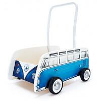 Ходунки Hape Классический автобус синий (E0381)