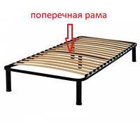 Каркас кровати 80х200 усиленный, 23 ламели, 5 ножек, 30х30