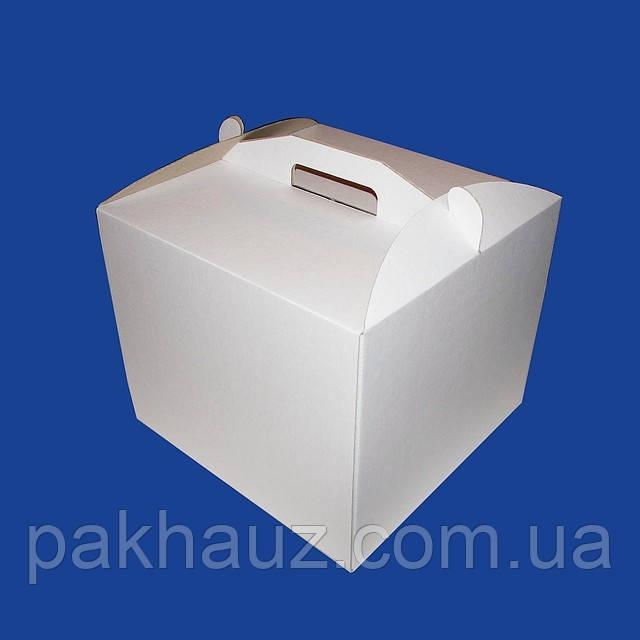 Коробка для торта 300х300х250 мм