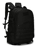 Городской тактический штурмовой военный рюкзак на 40 литров чёрный, зеленый песочный, фото 2