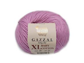 Gazzal Baby Cotton XL, орхидея №3422