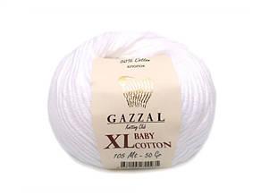 Gazzal Baby Cotton XL, белый №3432