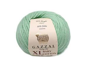 Gazzal Baby Cotton XL, водяная зелень №3425