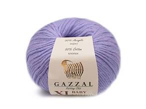Gazzal Baby Cotton XL, сирень №3420