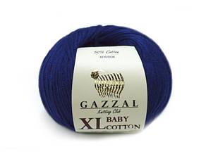 Gazzal Baby Cotton XL, темно-синий №3438