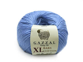 Gazzal Baby Cotton XL, голубой №3423