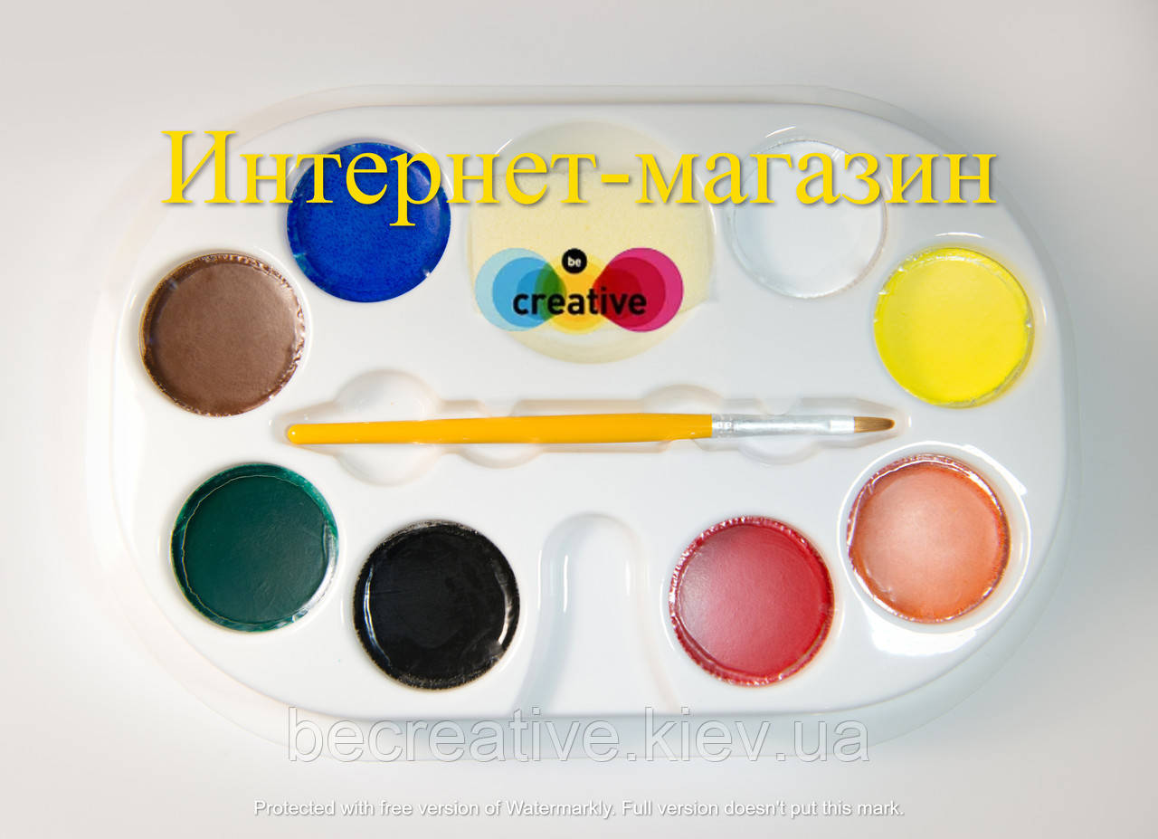 """Профессиональная палитра детского аква-грима """"Классики"""""""