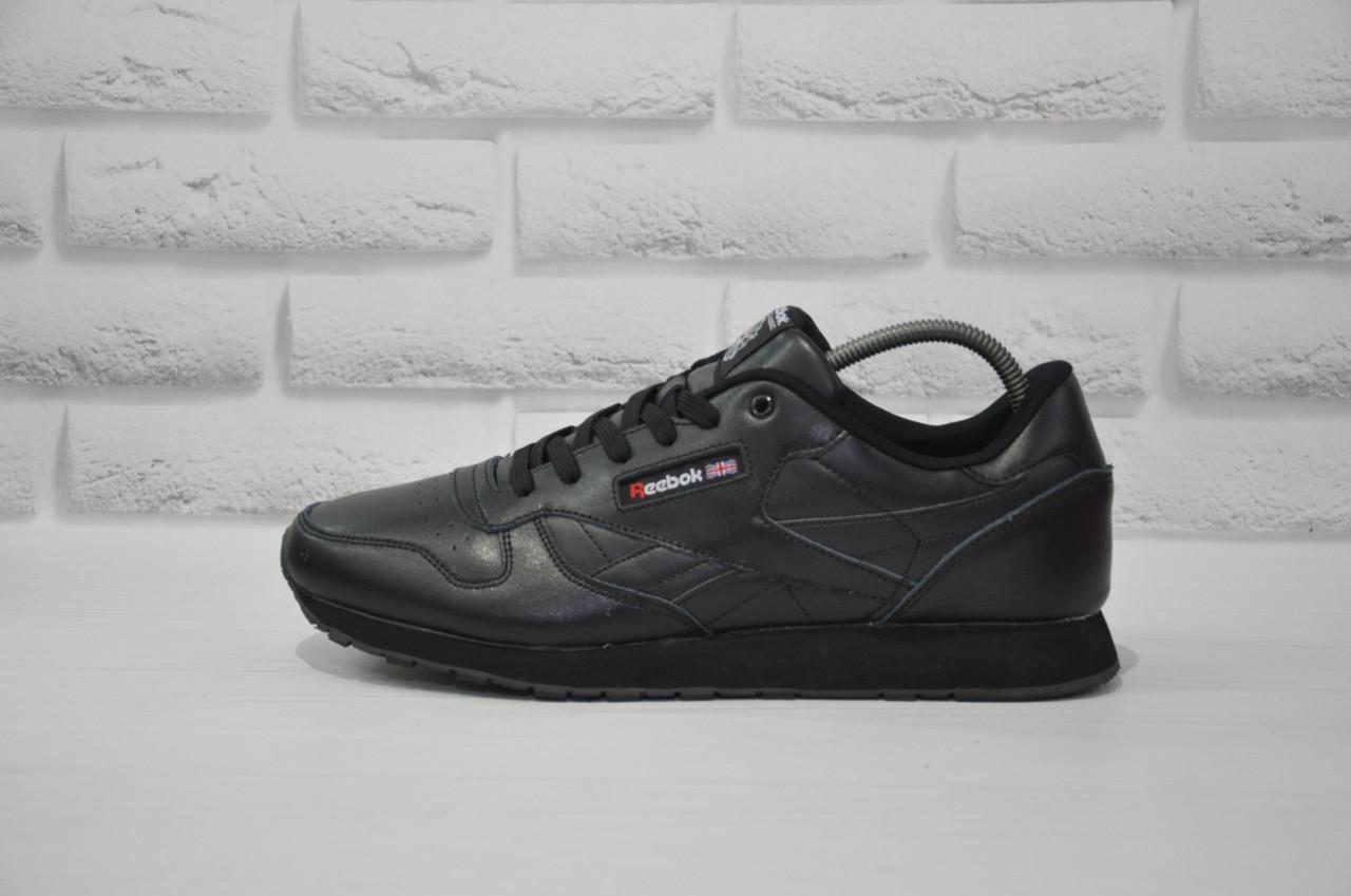 Мужские весенние кожаные кроссовки в стиле Reebok Classic большие размеры:47-49