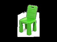 Детский стул-табурет Doloni Toys пластиковый, складной 30х60х30 см, зелёный