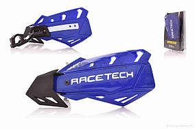 Защита рук  мото  #X-FORCEHANDGUARD4  синие  RACE TECH