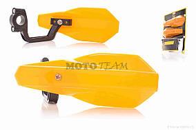 Защита рук  мото  #VLM-026  желтые  CHENGYE