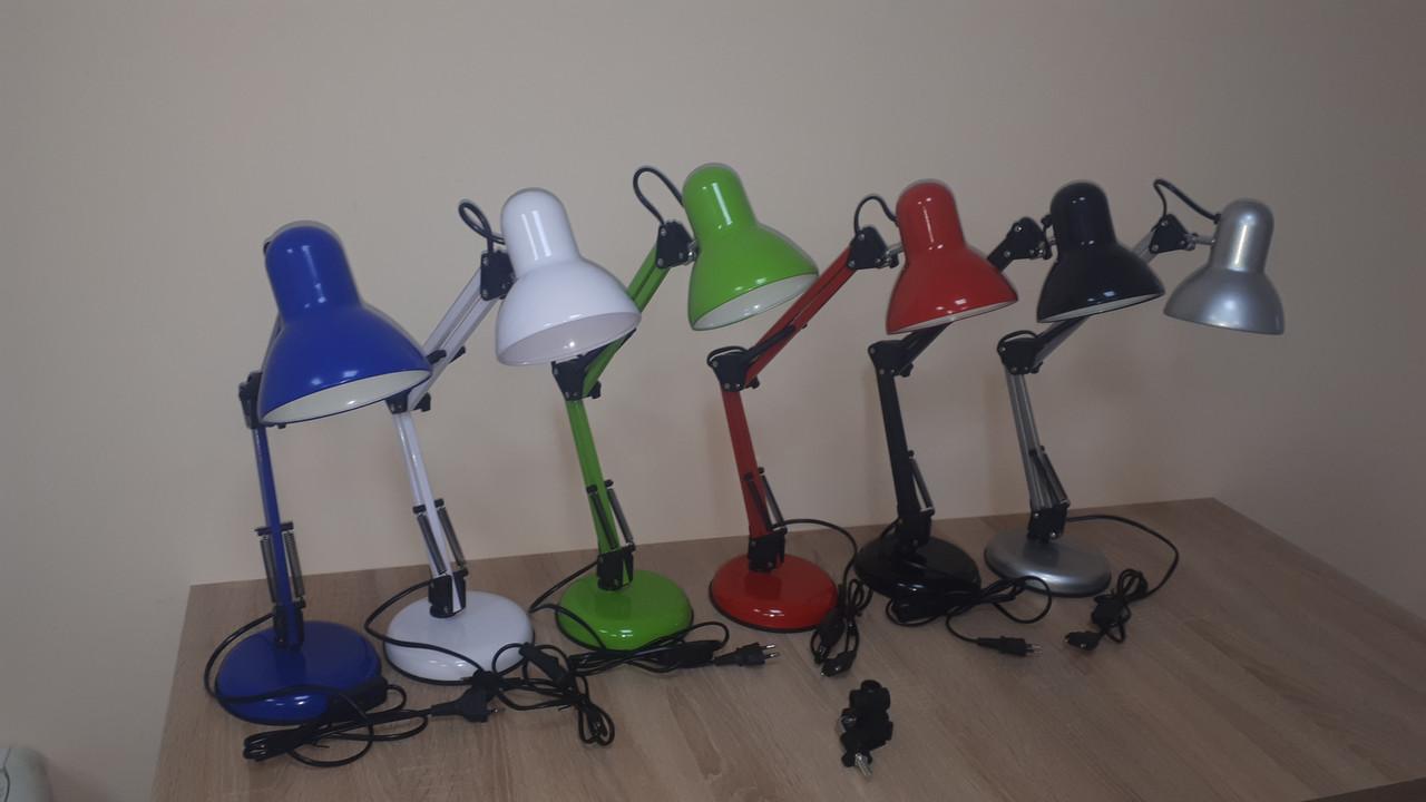 Настольная лампа LEDium FACTORY стальная