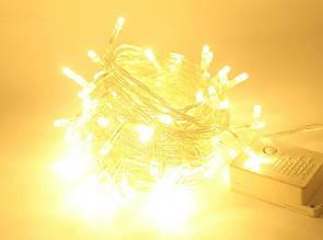 Новогодняя гирлянда на елку светодиодная 400 LED лампочек 23м
