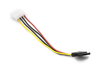SATA-кабель PowerPlant MOLEX-SATA (CC-SATA-PS) 0,15м