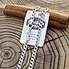 Серебряная цепочка родированная Панцирная скруглённая длина 60 см ширина 4 мм вес 18.0 г, фото 4