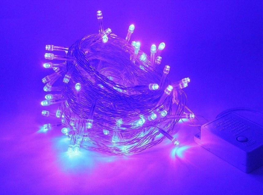 Новогодняя гирлянда на елку светодиодная 200 LED лампочек 13м