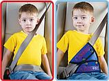 Детское удерживающее устройство для автомобиля (вместо автокресла). Автобустер, фото 6