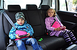 Детское удерживающее устройство для автомобиля (вместо автокресла). Автобустер, фото 10