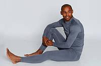Мужские термоштаны для спорта HASTER ProClima зональные бесшовные, Серый, фото 1