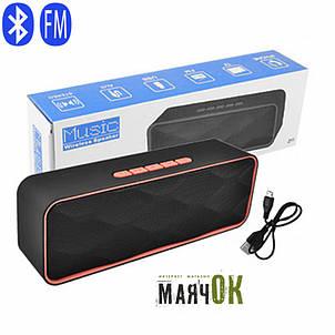 Портативная Bluetooth-колонка SC-211, c функцией speakerphone, радио, фото 2