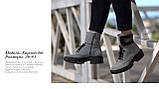 Зимові черевики. Натуральні шкіра і замша., фото 2