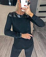 Кофта женская черная 44161, фото 1