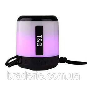 Портативная аккумуляторная колонка SPS UBL TG156, подсветка
