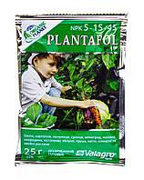 Комплексное удобрение ПЛАНТАФОЛ (PLANTAFOL) Valagro 5.15.45. (созревания плодов) 25 г Organic Planet