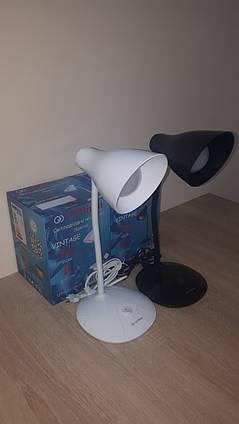 Настольная лампа светодиодная LEDium VINTAGE черная