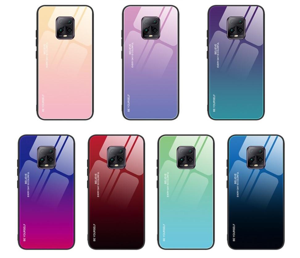 Чехол Gradient для Xiaomi Mi 10 Lite (разные цвета)
