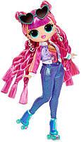 Кукла ЛОЛ ОМГ Диско-скейтер LOL Surprise OMG S3 Roller Chick (567196), фото 2