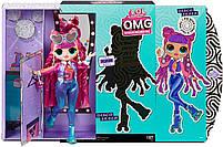 Кукла ЛОЛ ОМГ Диско-скейтер LOL Surprise OMG S3 Roller Chick (567196), фото 6