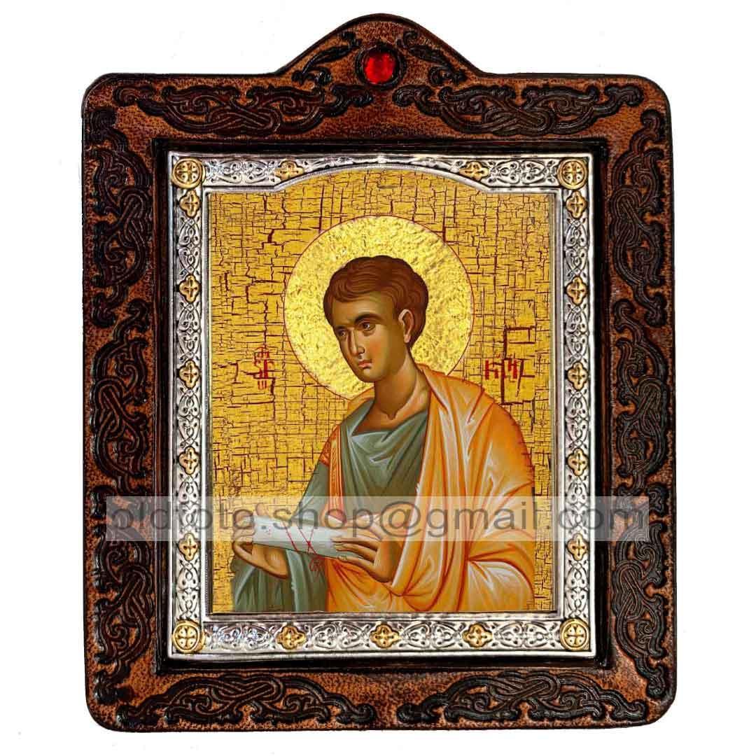 Ікона Святий Апостол Пилип (на шкірі 80х100мм)
