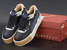 Женские кроссовки Puma Cali Sport Mix Black Marshmallow 371202-01, фото 3