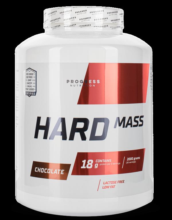 Вітамінний Progress Nutrition Hard Mass 2000g ВАНІЛЬ