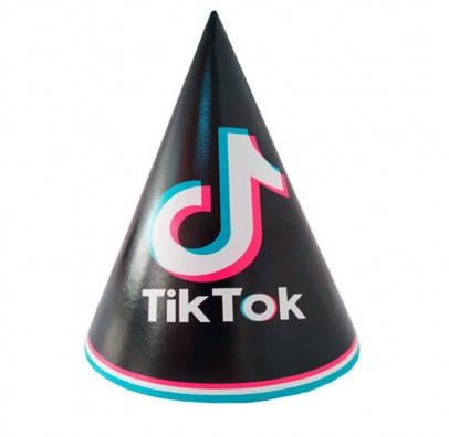 Паперові ковпачки святкові Tik Tok 8 шт