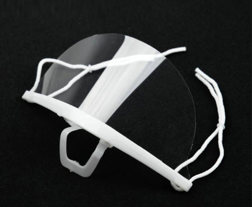 Защитный прозрачный щиток пластиковый