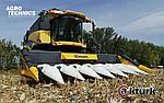 🌽 ЖАТКА для уборки кукурузы AKTURK 🌽