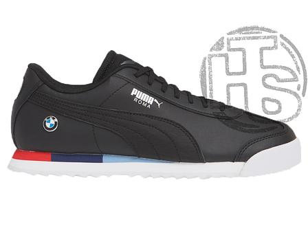 Мужские кроссовки Puma BMW Roma Black 306195-03, фото 2