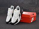 Кроссовки мужские Nike Air Max 270  White Black Gold, фото 2