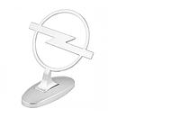 Прицел эмблема на капот Opel хром