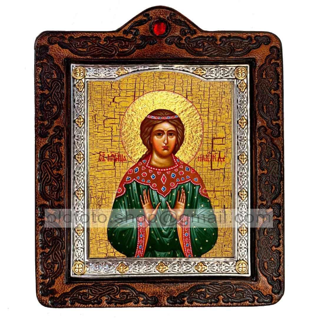 Ікона Надія Свята Мучениця Римська (на шкірі 80х100мм)