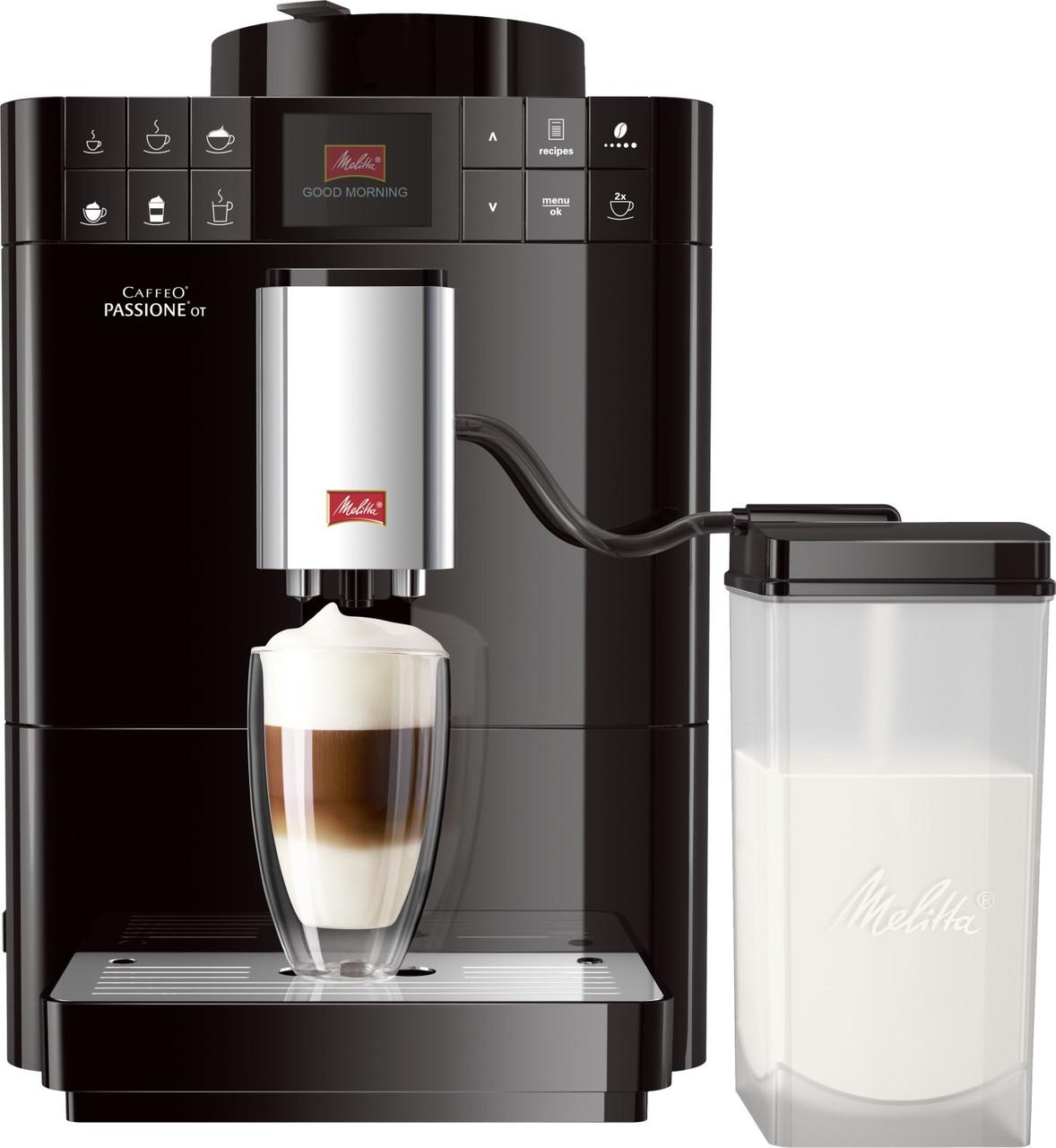 Кофемашина автоматическая Melitta CAFFEO Passione OT Black F53/1-102