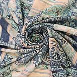10292-11, павлопосадский хустку з віскози з подрубкой 80х80, фото 6