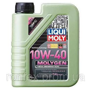 LM 1л Molygen New Generation 10W-40 НС-синтетичне моторне масло API CF/SL, ACEA: A3/B4