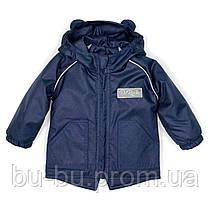 Куртка-парка демисезонная ДоРечі Синяя, 74