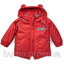 Куртка-парка демисезонная ДоРечі Красная, 74