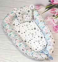 Кокон-позиционер для новорожденного гнездо кокон для ребёнка